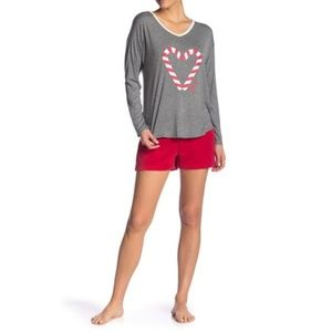 Juicy Couture Pajama Top and Short Set